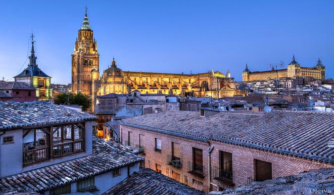 Travel to Toledo, Spain