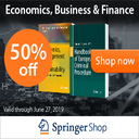 50% off any eBook in Business, Economics, Finance & Law