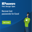 Recover lost passwords for Excel