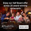Enjoy our half board offer
