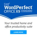 Corel WordPerfect Office X9 - Standard Edition