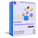 Cucusoft All Audio-Video to MP3-Wav Converter