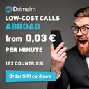 Drimsim International Sim