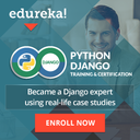 Python Django Online Training by Edureka 3