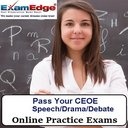 CEOE Speech-Drama-Debate 10-Test Bundle