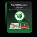 Navitel Navigator. Maldives