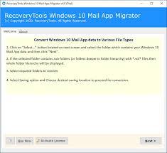 Windows 10 Mail App Migrator - Pro License