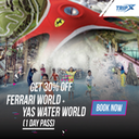 Ferrari World, Yas Waterworld, Warner Bros. World Abu Dhabi